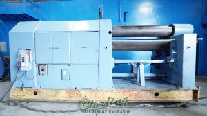 Used Herkules Initial Pinch Power Roll, Heavy Duty Metal Plate Rolling Machine