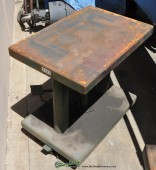 Used Lexco Hydraulic Lift Table