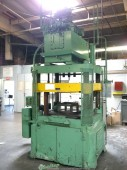 Used Columbus Industries Model Trimmer 4 Post Hydraulic Trim Press