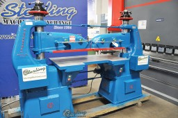 Used Schwabe Twin Head Hydraulic Clicker Press