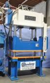 Used Savage 4 Post Hydraulic Blanking Trim Press