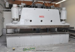 "Used Pacific Heavy Duty Hydraulic Press Brake with (HUGE 38"" Deep Throat ) Special Price"