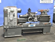 Used Ta Shing Crown 'Removable' Gap Bed Engine Lathe