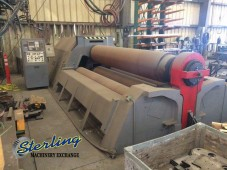 Used Malco 4 Roll Plate Roll