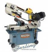 Brand New Baileigh Horizontal Metal Cutting Band Saw with Vertical Cutting Option