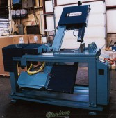 Brand New W.F. Wells Semi-Automatic Electrical Vertical Tilting Dual Direction 60?? Miter Capability Band Saw