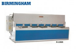 Brand New Birmingham Hydraulic Swing Beam Shear