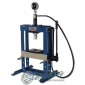 Brand New Baileigh Hand Operated H-Frame (Gap) Press