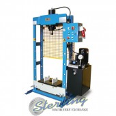 Brand New Baileigh Hydraulic H-Frame (Gap) Press