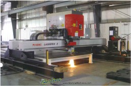 Brand New Koike Aronson Lasertex Z-Series 2Kw Precision Laser Cutting Machine