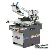 Brand New MACC Horizontal Double Miter Swivel Band Saw