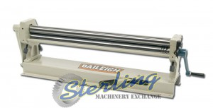 Brand New Baileigh Manual Slip Roll