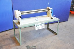 Brand New Birmingham Manual Benchtop Slip Roll