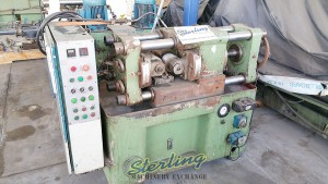 Used Burgelu Two Thread Rolling Cylindrical Die Thread Rolling Machine for Thread Rolling, Splines, Knurls and more.