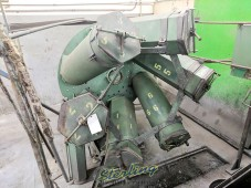 Used BMT Multi Barrel Slide Hone Finishing Mill, Flywheel Tumbler Deburring Machine