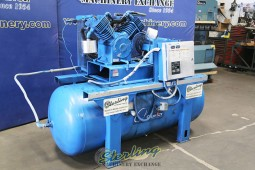 Used Quincy Reciprocating Air Compressor