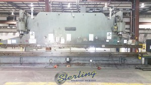 Used Cincinnati CNC Hydraulic Press Brake (20' Between Housings)