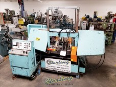Used W.F. Wells Automatic Horizontal Bandsaw (Twin Post Design)