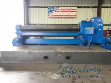 Used Bertsch Initial Pinch Plate Rolling Machine