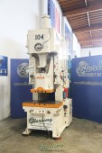 Used Aida Gap Frame Hydraulic Punch Press