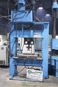 Used Dake Sliding Ram Electric/Hydraulic H-Frame Press