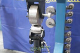 """Used (Demo Machinery) Baileigh Manually Operated English Wheel """"Rolls Have Some Scoring"""" Special Price"""