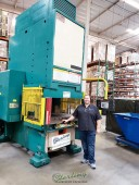 Used 250 Ton Cincinnati Hydruaulic OBS Power Punch Press (UPGRADED CONTROLLER)