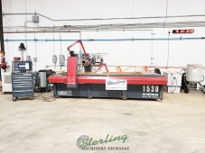 "Used YEAR 2018 MAXIEM (BY OMAX) 1530 Waterjet Cutting Machine ""GUARANTEED MACHINE"""