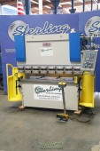 Used Baileigh Hydraulic NC Press Brake With X Axis Backgauge