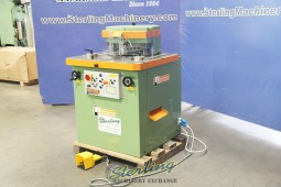 Used Peddinghaus Variable Angle Power Metal Notcher or Corner Shear