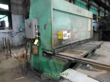 Used Accurshear Hydraulic Power Shear For Heavy Duty Metal Cutting