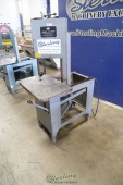 Used PMC Work-A-Matic Gravity Feed Vertical Bandsaw