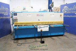 Used Knuth CNC Hydraulic Shear (Runs Great, Super Quiet)
