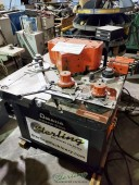 Used Amada Heavy Duty Hydraulic Coper, Radius, Corner & Edge Notcher