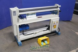 Used Baileigh Electric Powered Slip Roll (Great Condition)