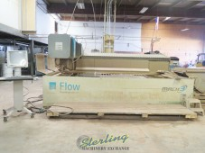 Used Flow CNC Waterjet Cutting System (GUARANTEED by FLOW DEALER) With Hyperjet 94,000 PSI Intensifier Pump