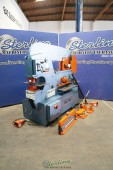 Used Scotchman Dual Operation Hydraulic Ironworker With Brake Attachment, V-Notcher, and Angle Shear (Save Thousands!)