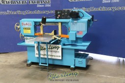 Used Doall Horizontal Miter Bandsaw (Swivel Head) Warranty from Doall Authorized Dealer