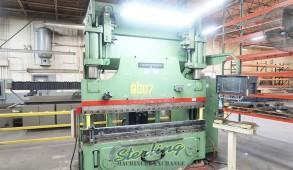 Used Cincinnati Hydraulic CNC Press Brake With UPGRADED Cincinnati Control Year 2008