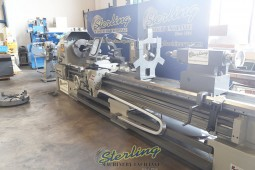 "Used Lion (Heavy Duty) Gap Bed Engine Lathe 6"" Hole"
