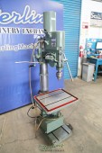Used Feeler Geared Head Drill Press W/ Powered Down Feed and Tapping