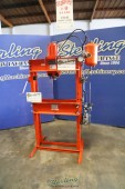 Used Nugier Air Over Hydraulic Operated H Frame Press