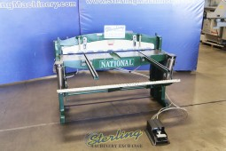 Used National Air Powered Shear (Upgrade Not From Factory)