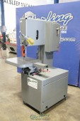 Used Grob Vertical Band Saw With Pneumatic Table Feed