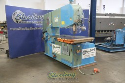 Used Doall Vertical Band Saw Super Deep Throat