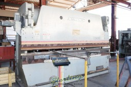 """Used Accurpress Hydraulic CNC Press Brake (Most Popular) """"Guaranteed From Dealer"""" All Above Ground!  NO PIT NEEDED."""