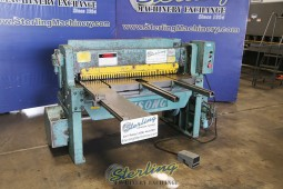 Used Wysong Power Squaring Shear