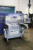 Used Contech Hydraulic Flat Bed Clicker Press With Auto Shuttle Table