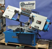 "Brand New Acra Variable Speed ""SWIVEL HEAD MITER CUTTING"" Horizontal ""Heavy Duty"" Bandsaw"