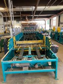 Used Iowa Precision Cut To Length Line with TDC and Slip/Drive System.  6 Coil Rolls Included.